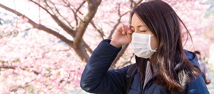 季節の変わり目に要注意! 春の花粉がもたらす肌荒れがある!?