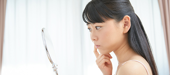 春のストレスが原因?不安定なゆらぎ肌の正しい対処法