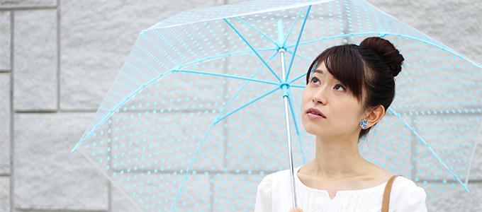 ベタベタ肌に注意「梅雨時期」の肌荒れの原因って?