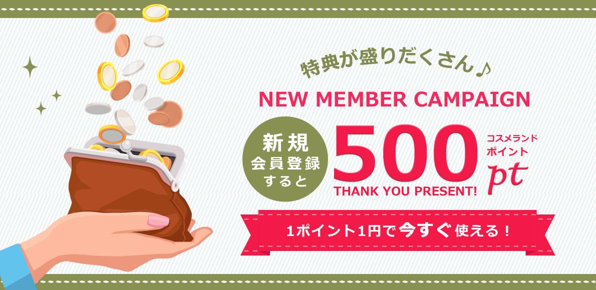 新規500PT