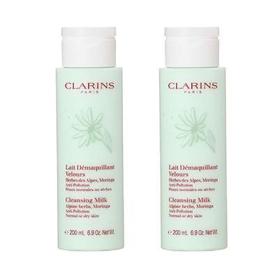 【セット】クラランス CLARINS クレンジングミルク ドライ/ノーマル 200mL 2個セット