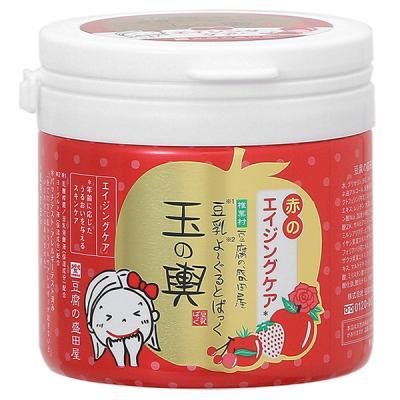 豆腐の盛田屋 豆乳よーぐるとぱっく玉の輿 赤のエイジングケア 150g パック・マスク