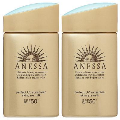 【セット】シセイドウ 資生堂 アネッサ ANESSA パーフェクトUV スキンケアミルク a SPF50+/PA++++ 60mL 2個セット サンケア・UV日焼け止め