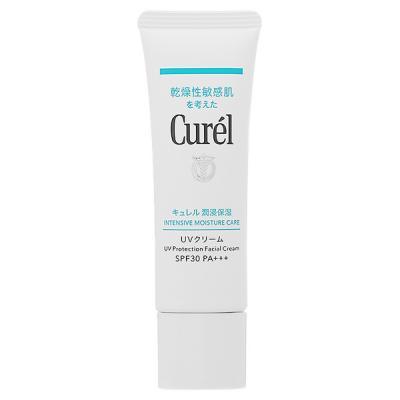 花王 キュレル Curel UV クリーム SPF30 PA++ 30g 【日焼け止め サンスクリーン 化粧下地 UV対策 紫外線対策 紫外線防止】 サンケア・UV日焼け止め